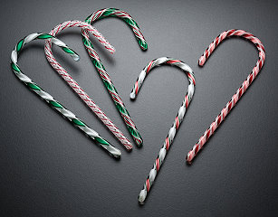 Glass Candy Cane